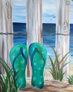 flip-flop-painting