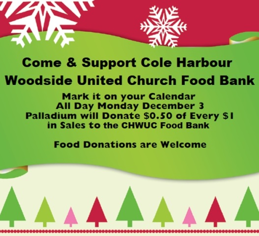 Palladium Food Bank Support 2018