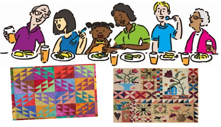 comfort quilters harvest lunch image
